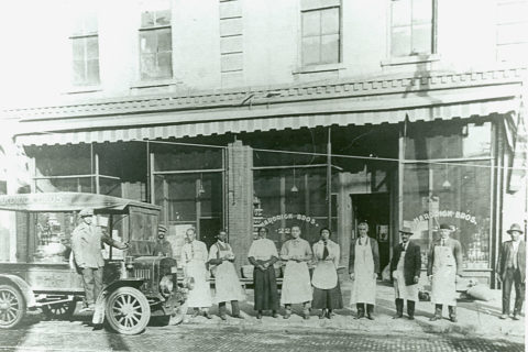 historic photo of springfield missouri